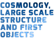 COSMOLOGY, LARGE SCALE STRUCTURE AND FIRST OBJECTS
